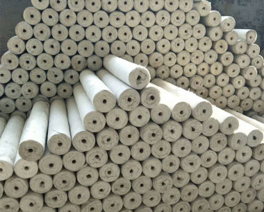硅酸鋁保溫棉雨淋后怎么處理