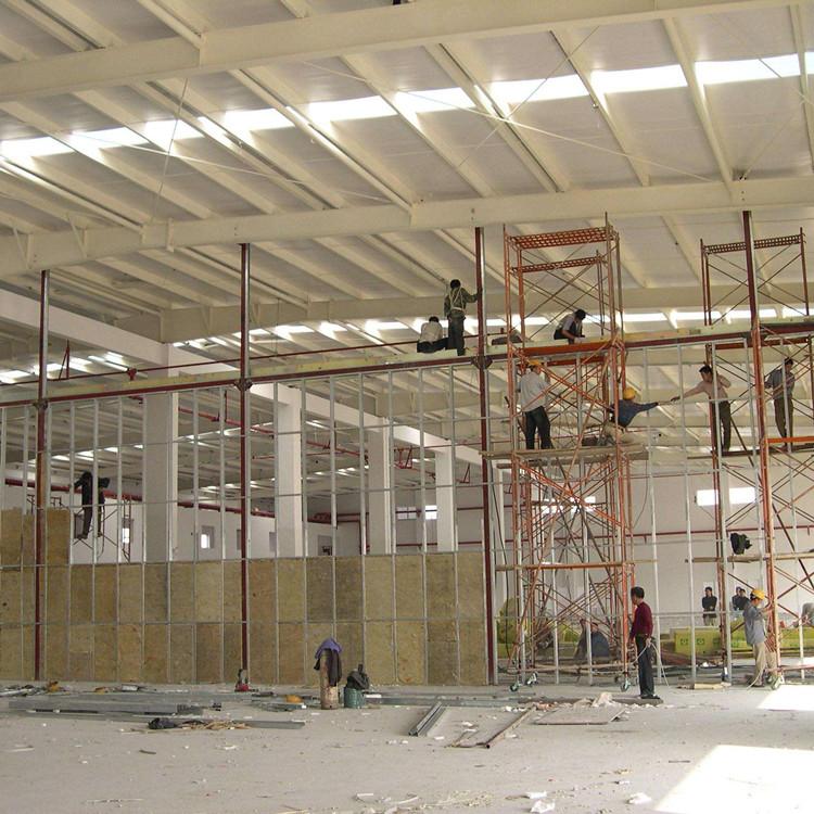 硅酸铝板运用于工厂的防火隔热保温
